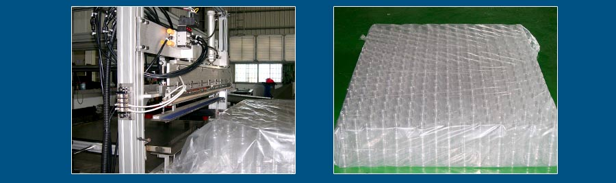 Automatic Plastic Bottle Column Packing Device